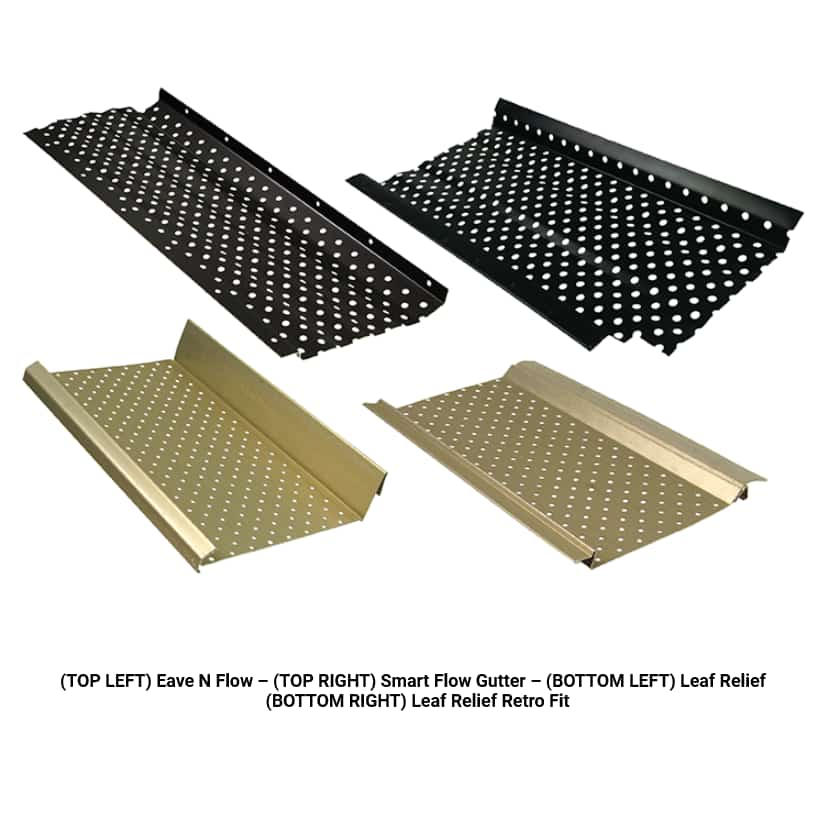 B-C-Seamless-High Quality Perforated Gutter Guards