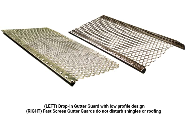 BC SEAMLESS ALUMINUM EXPANDED WIRE GUTTER GUARDS