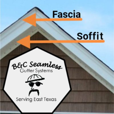 B & C Seamless Gutters Soffits and Fascias 742 Graham St., Mineola, TX 75773 Office: 903-638-6541